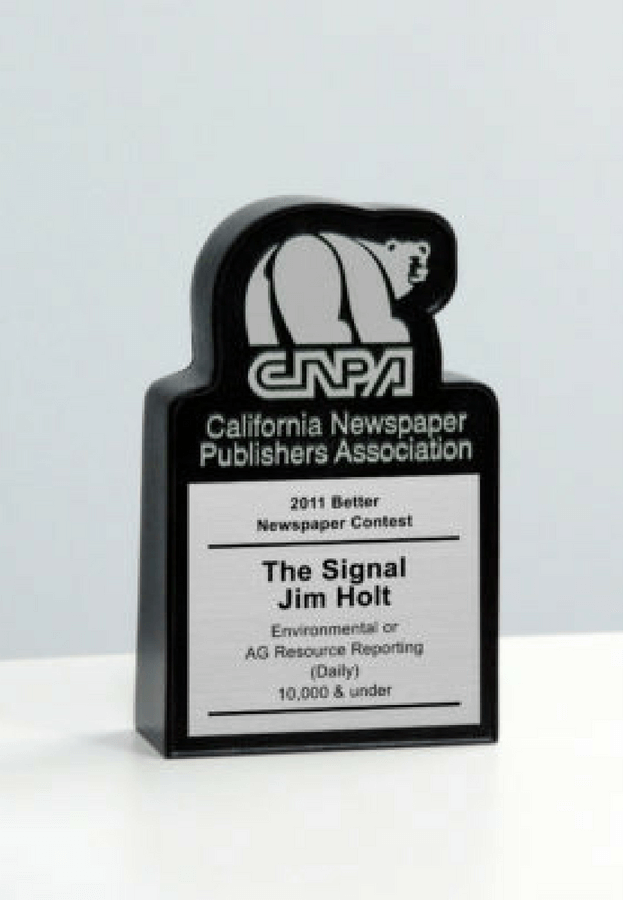 CNPA Better Newspaper Contest Desk Award