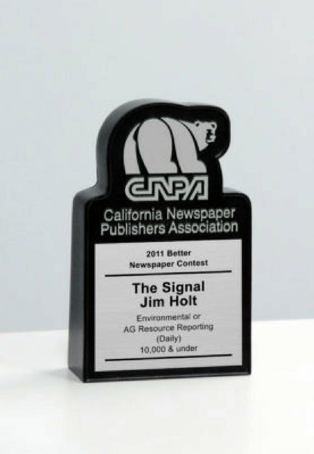 CNPA Better Newspaper Contest Desk Award