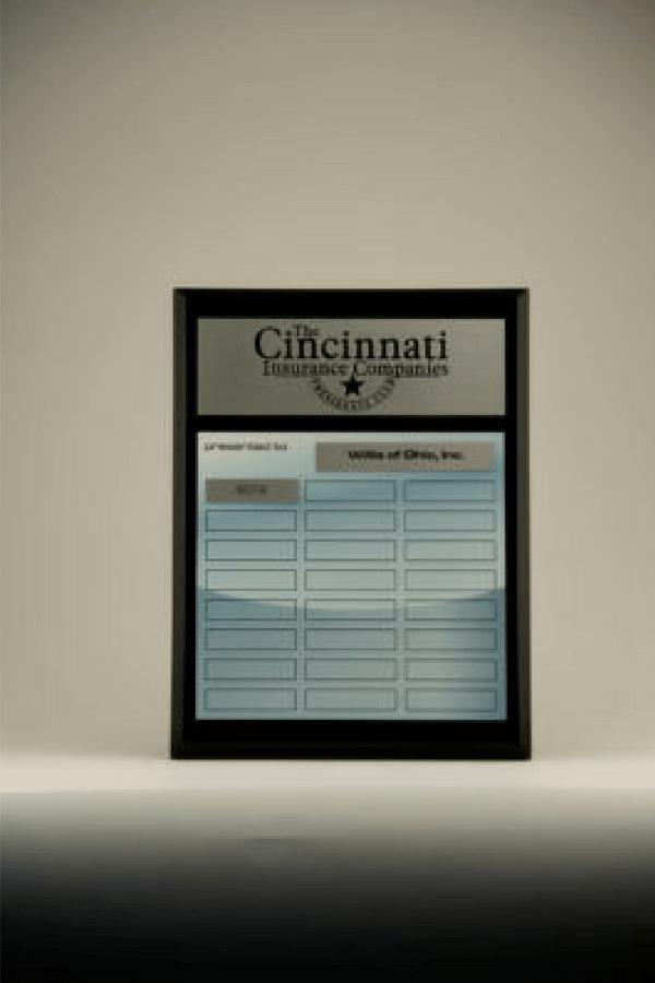 Cincinnati Insurance Companies Star Performer Plaque