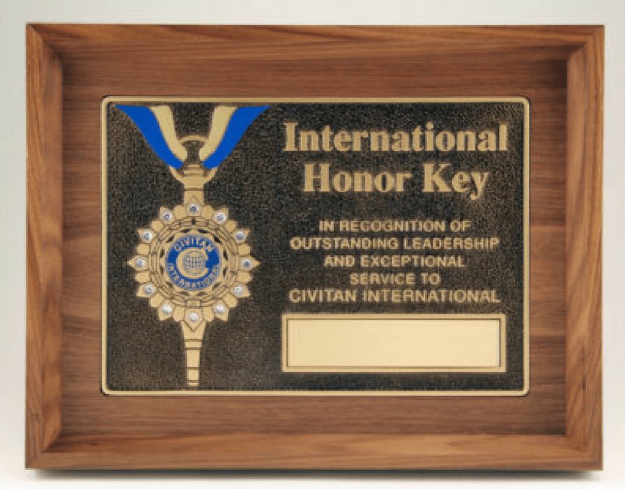 Civitan International Honor Key Award