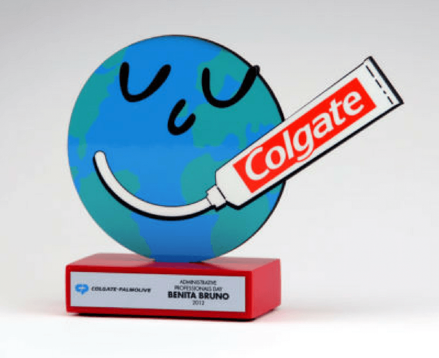 Colgate Full-Color Globe