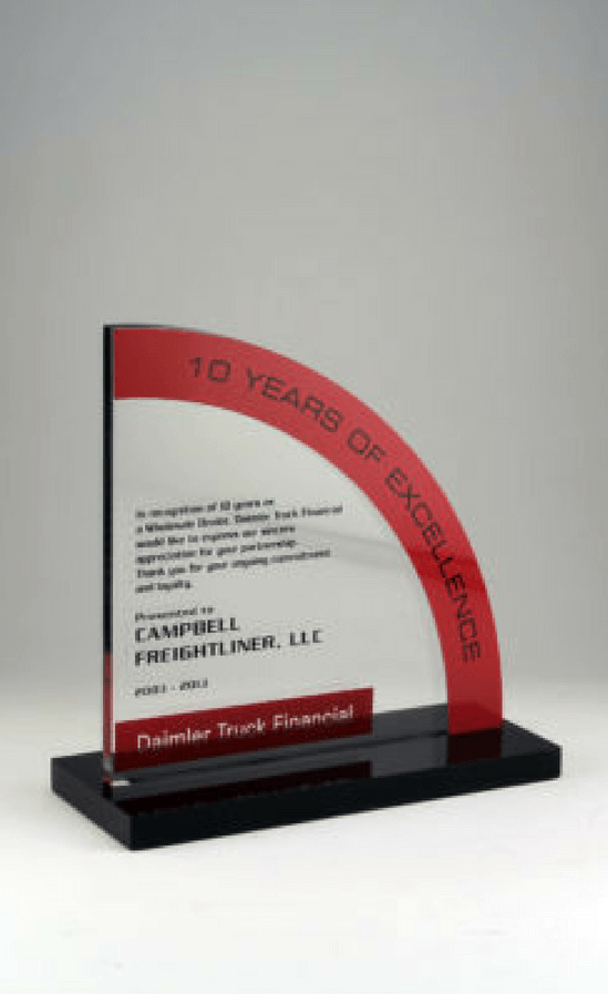 Daimler Truck Financial 10 Years of Service Award