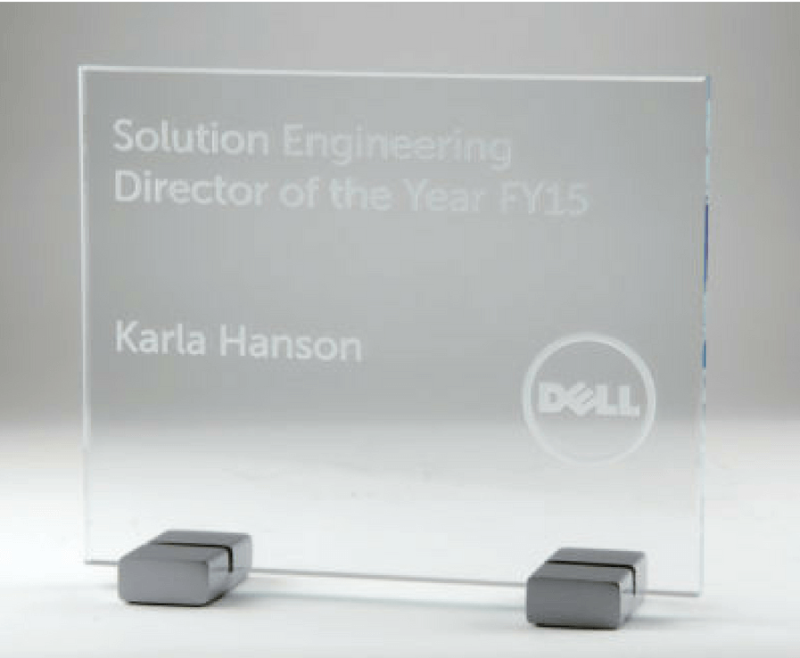 Dell Solution Engineering Director Of The Year Award