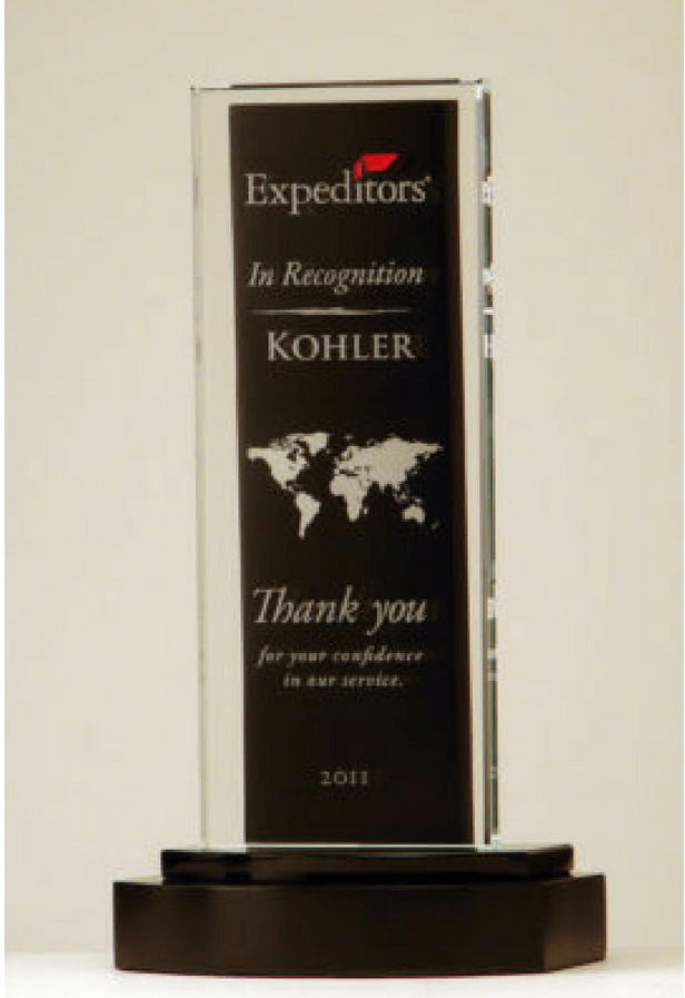 Expeditors Customer Appreciation Award