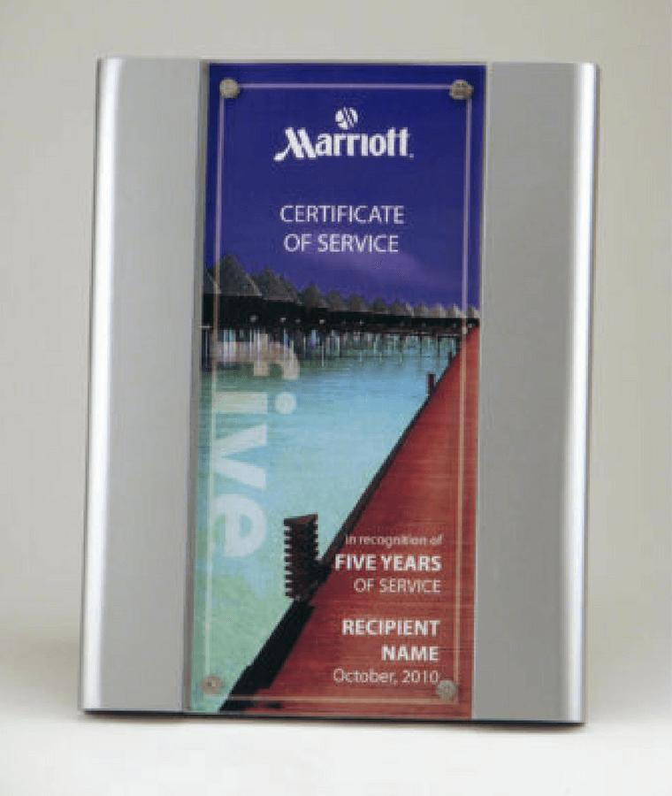 Marriott Years of Service Plaque