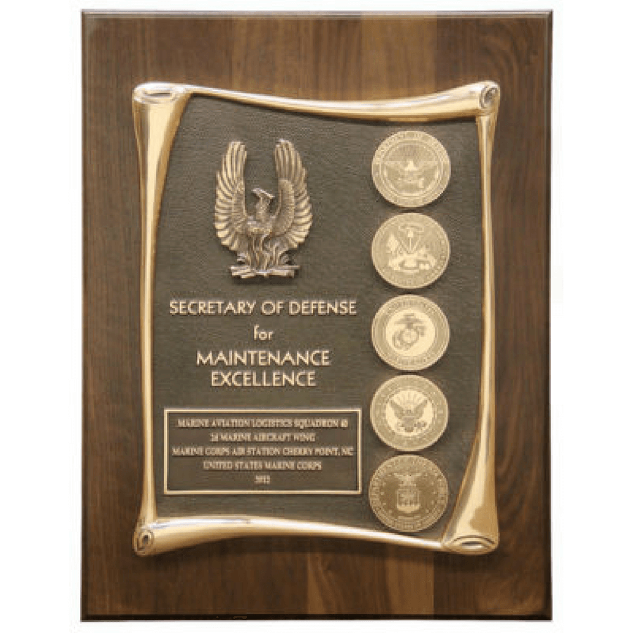 Phoenix Award Maintenance Excellence Plaque