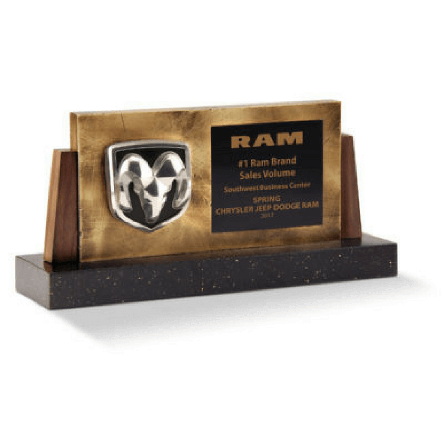 Ram #1 Brand Sales Volume Award