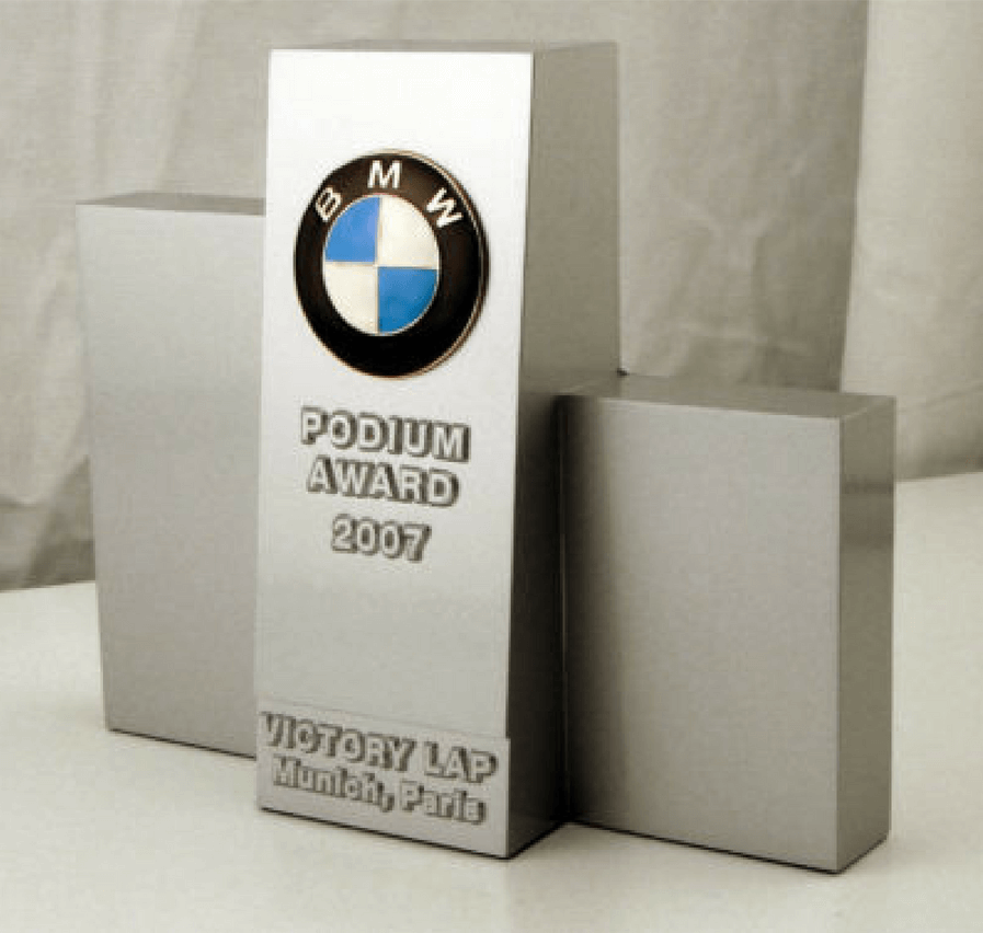 BMW Parts & Service Podium Award