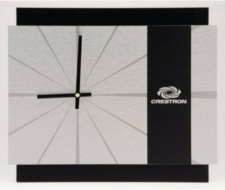 Crestron Logo Clock