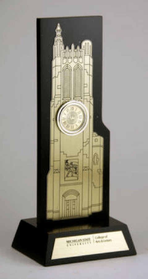 Michigan State University Clock Commemorative