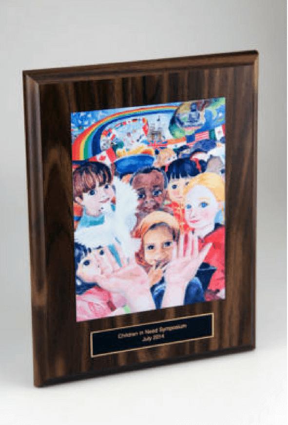 Children In Need Symposium Plaque