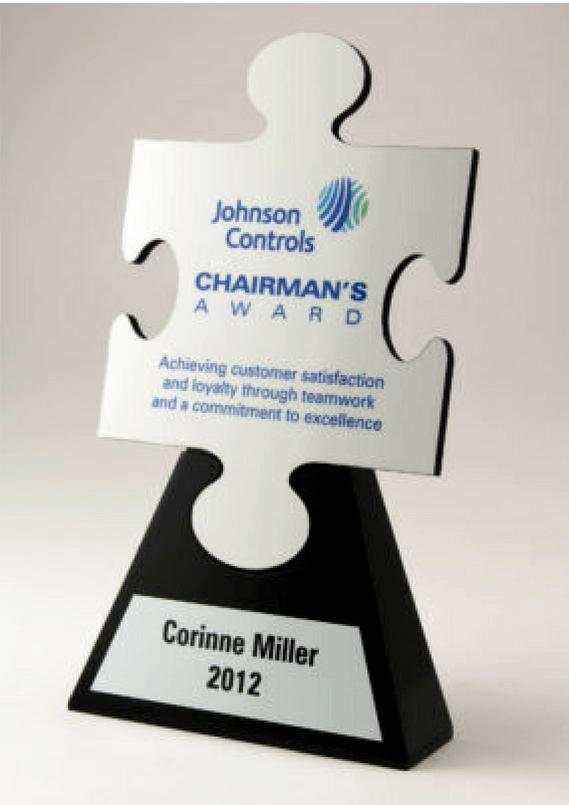 Johnson Controls Chairman's Award