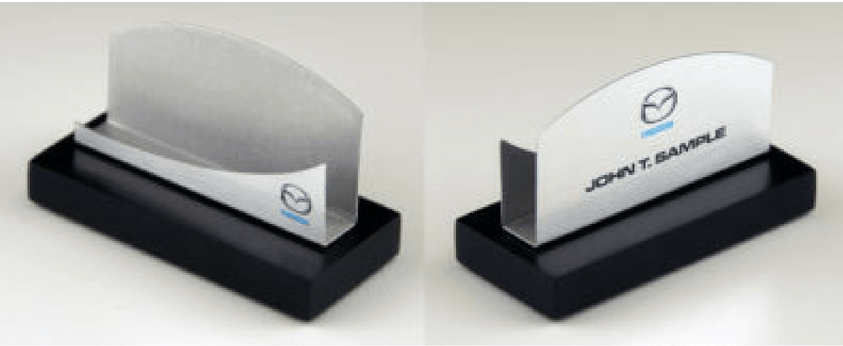 Mazda Business Card Holder Gift