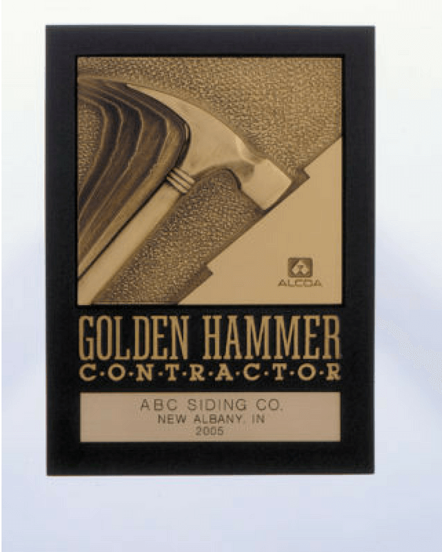 Alcoa Contractor Golden Hammer Contractor Award