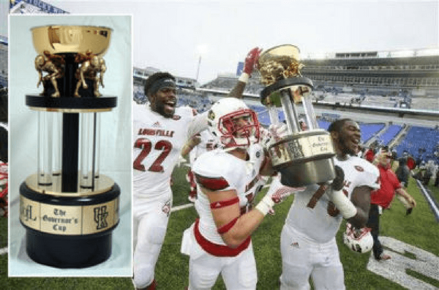 Kroger Governor's Cup Trophy | Bruce Fox | Custom Football