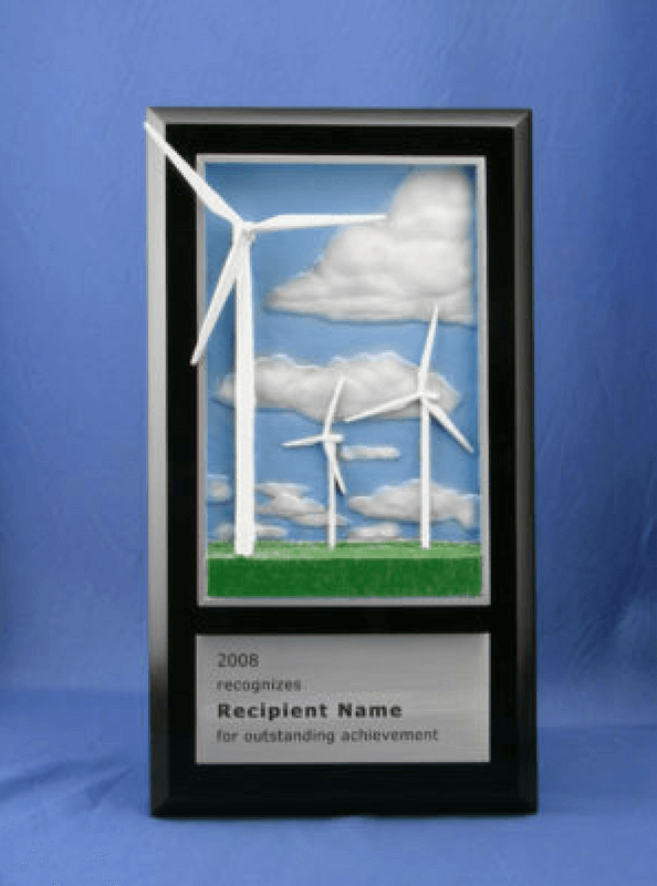 Turbine Plaque