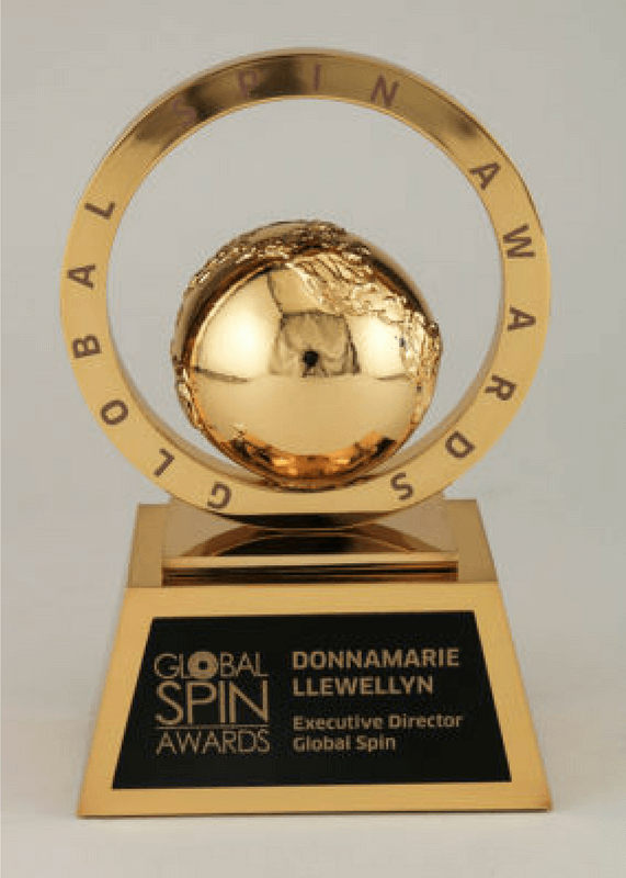 Global Spin Award Trophy