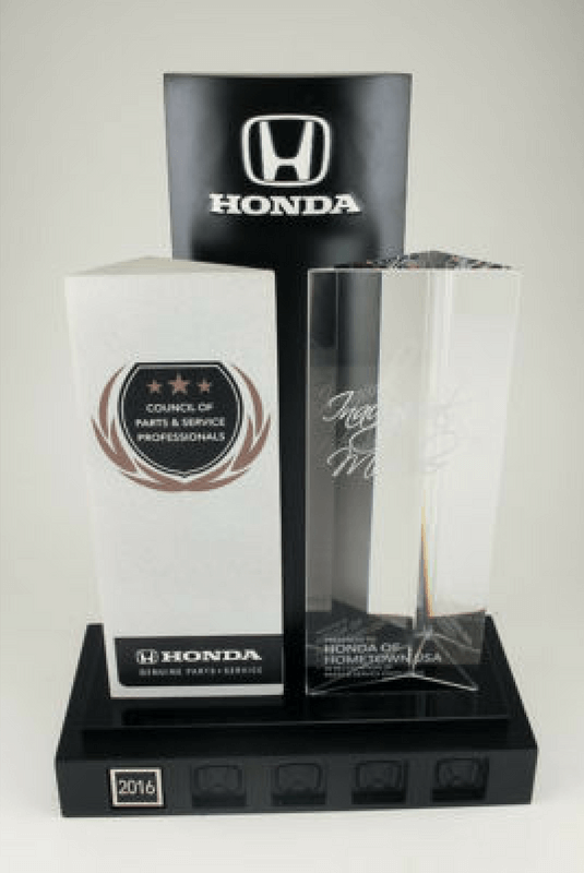 Honda Council of Parts & Service Trophy