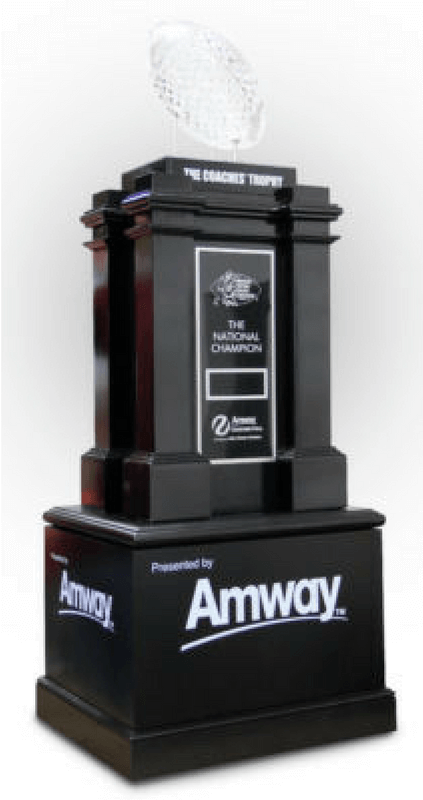 AFCA Coaches' Championship Football Trophy