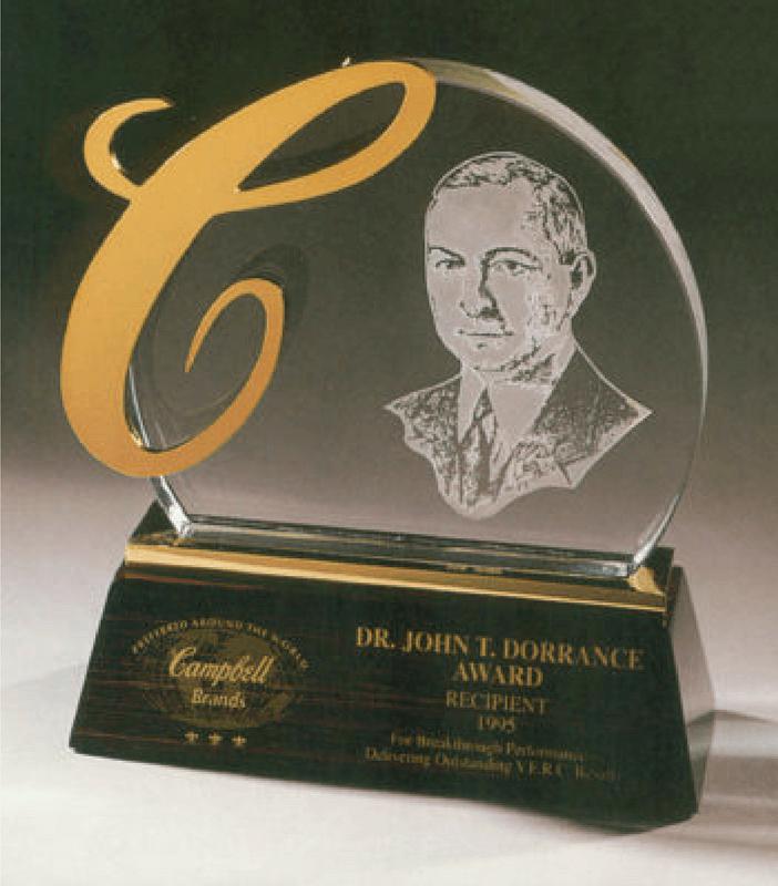 Campbell's Dr. John T. Dorrance Award