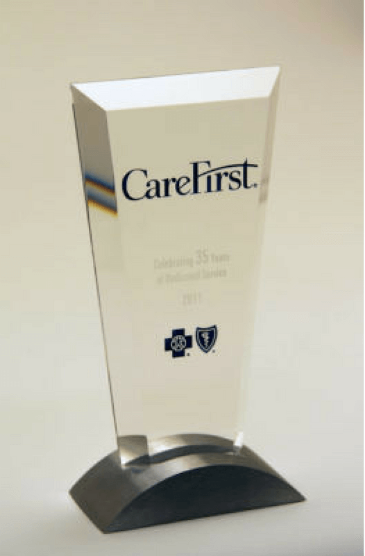 CareFirst Years of Service Trophy