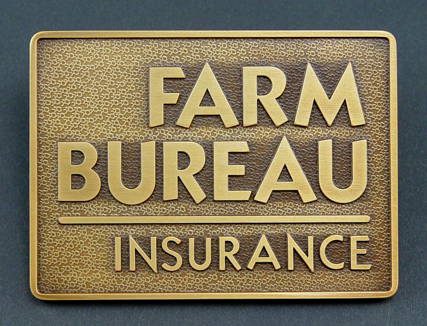 Farm bureau insurance sign bruce fox custom signs for Bureau insurance
