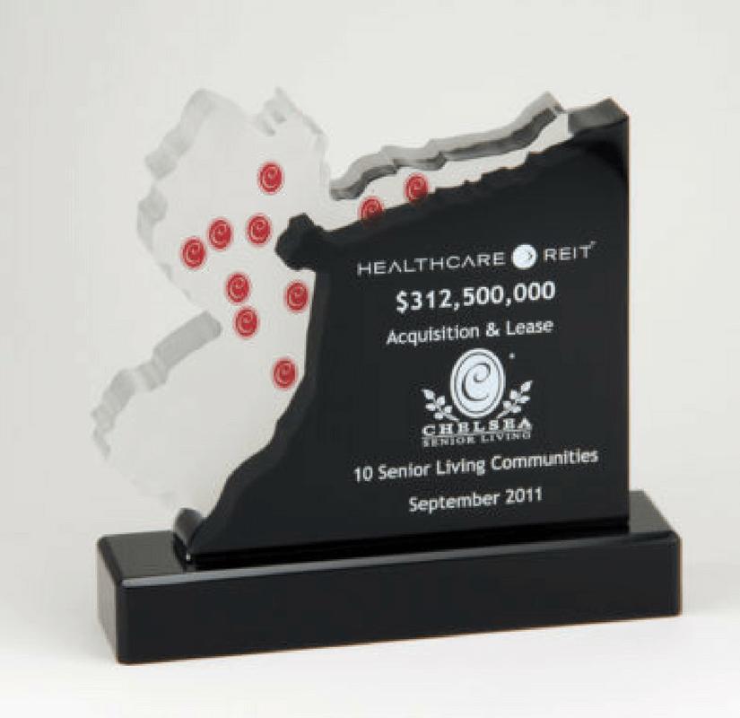 Healthcare Reit Acquisition Commemorative Gift